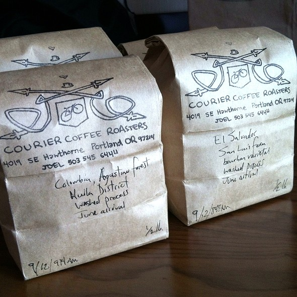 Coffee @ Courier Coffee