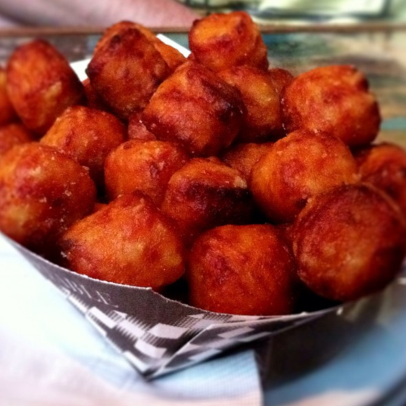 Sweet Potato Tots @ Fire On the Mountain Buffalo Wings