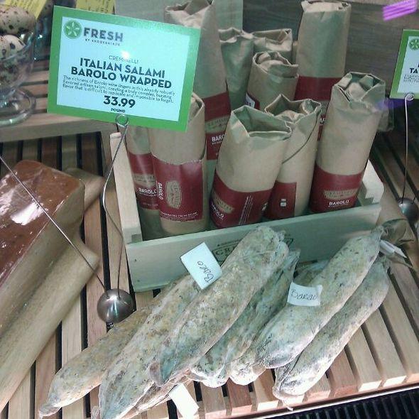 Barolo Handcrafted Italian Salami @ Fresh
