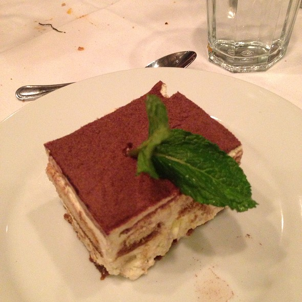 Tiramisu - Pasta da Pulcinella, Atlanta, GA
