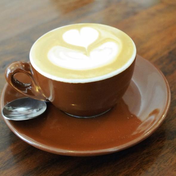 Macchiato @ Courier Coffee