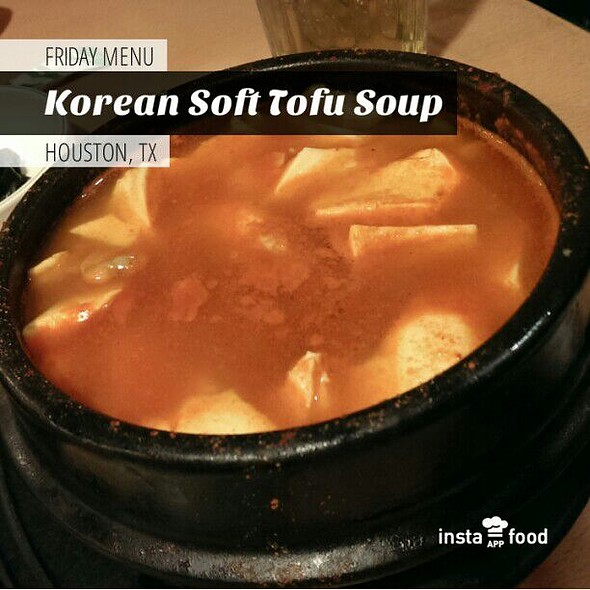 Tofu Soup With Seafood In Korean Style