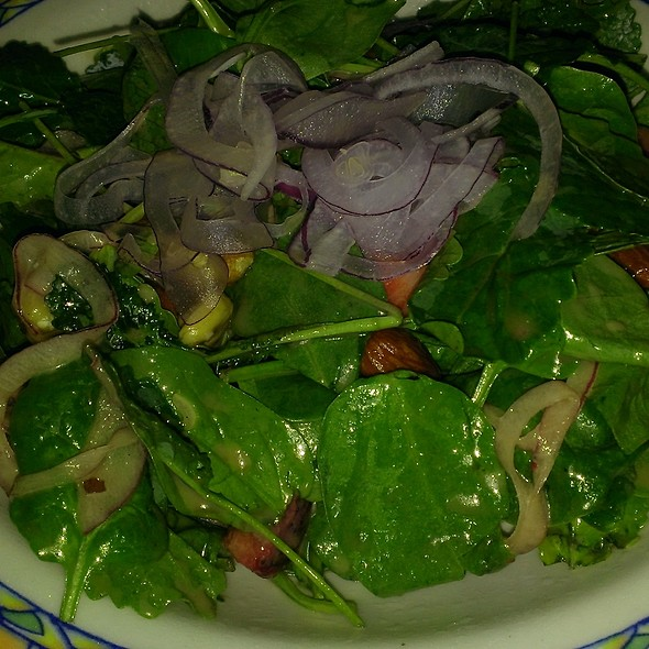 Kale, spinach and strawberry salad - Sierra Bonita Grill, Phoenix, AZ