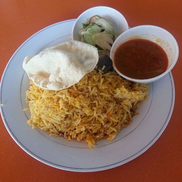 Nasi Briayani Kambing @ Restoran NMR