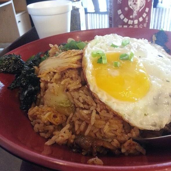 Kim Chee Fried Rice @ Jin Jin Deli