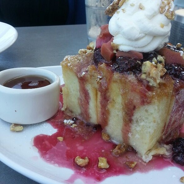 Mama's Baked French Toast  @ JRDN Restaurant