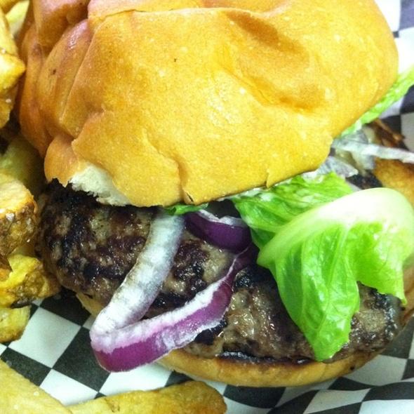 Grass Fed Caesar Burger @ MIHO Gastrotruck