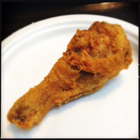 fried chicken @ Duffin's Donuts