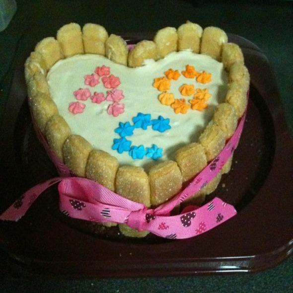 Tiramisu Charlotte Cake @ Hougang