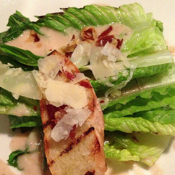 Grilled Caesar Salad @ Rezaz Mediterranean Cuisine