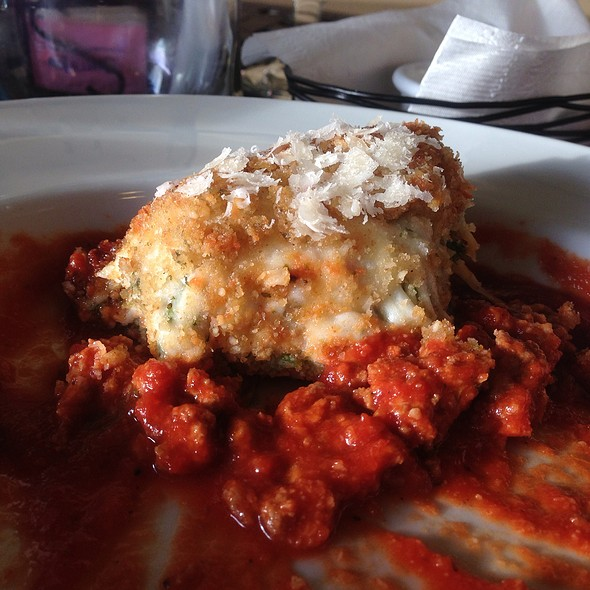 Capellini Al Forno @ Savor Thyme Cafe