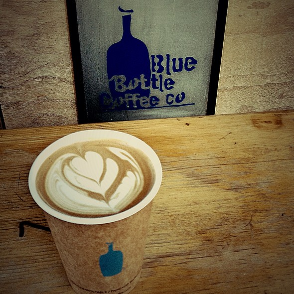 Cafe Mocha @ Blue Bottle Coffee Kiosk