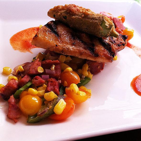 Grilled Cobia - Criollo at Hotel Monteleone, New Orleans, LA
