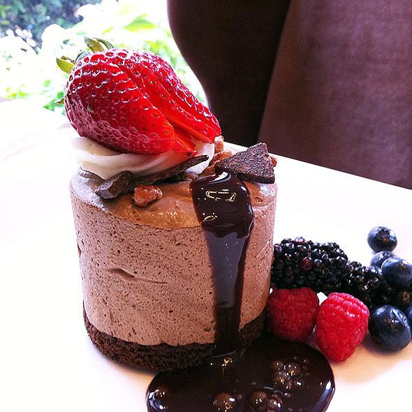 Chocolate & candied praline parfait - Criollo at Hotel Monteleone, New Orleans, LA