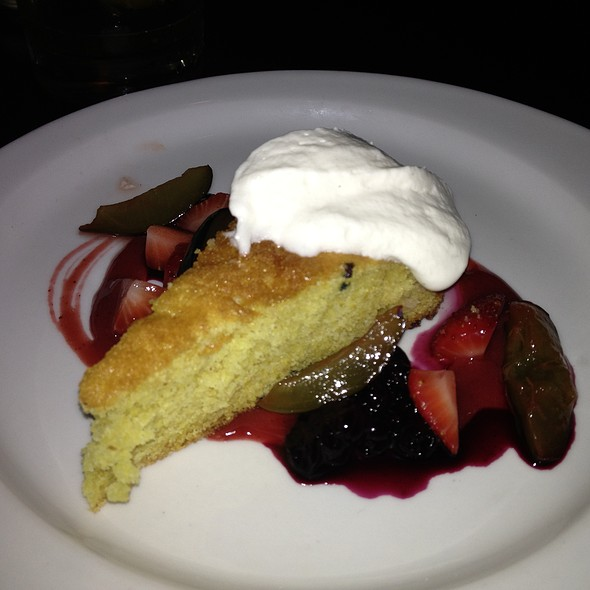 Warm Cornmeal Buttermilk Cake - Grove - Grand Rapids, Grand Rapids, MI