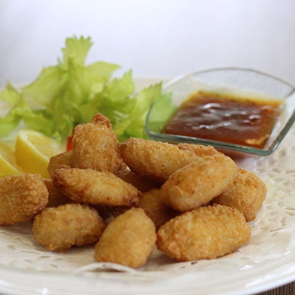Salted Cod Poppers @ The Canvas
