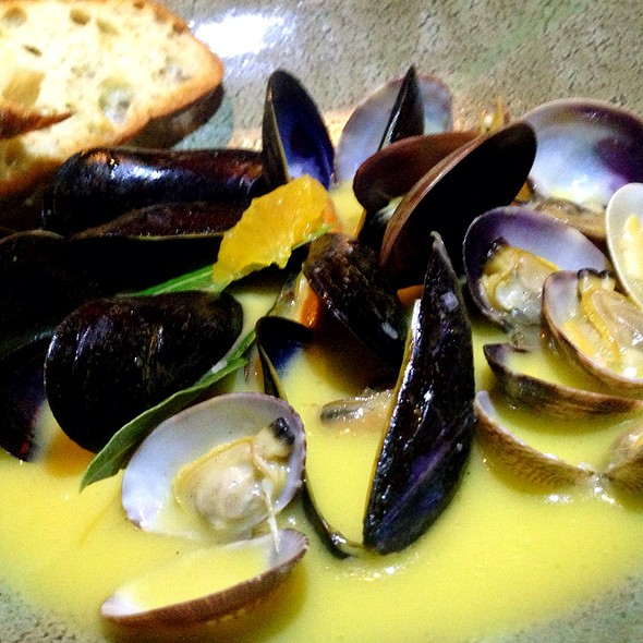 Mussels and Clams - Firefly Grill & Wine Bar, Encinitas, CA
