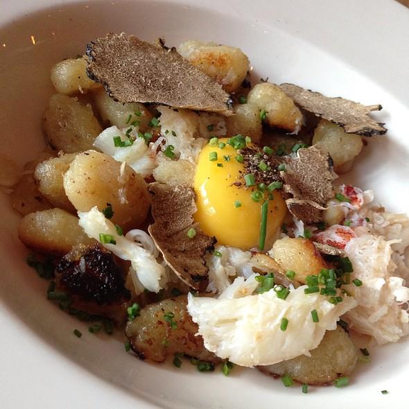 Dumplings Crab, Truffle And A Duck Egg Yolk