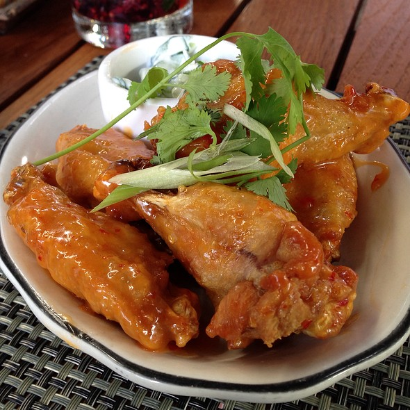 Chili Chicken Wings @ Michael's Genuine Food & Drink