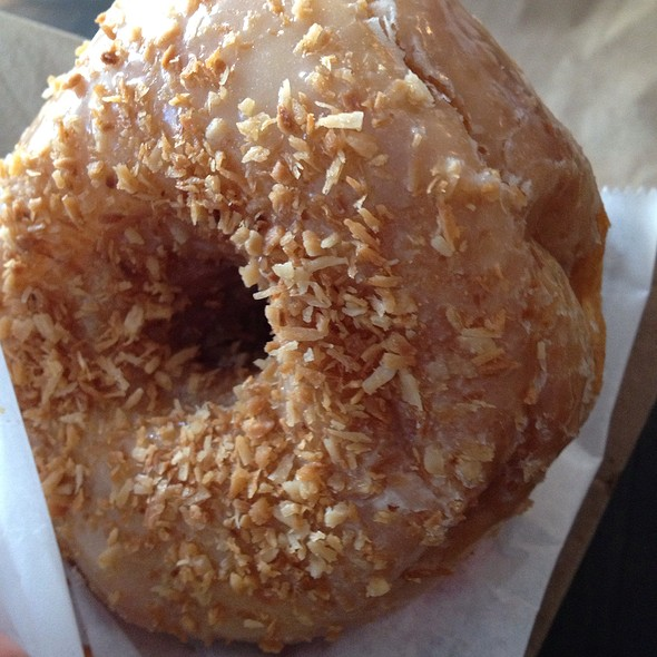 Toasted Coconut Donut @ Dun-Well Donuts
