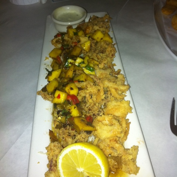 Crispy Fried Calamari - Nick and Johnnie's, Palm Beach, FL