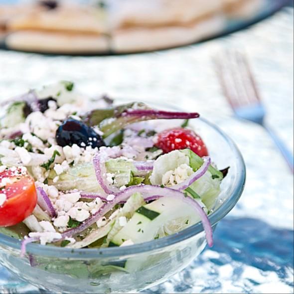 Greek Salad - Santorini Greek Kitchen, Indianapolis, IN