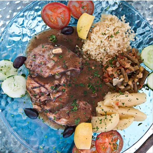 Leg Of Lamb - Santorini Greek Kitchen, Indianapolis, IN