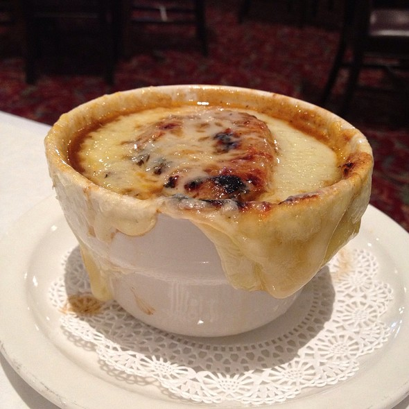 French Onion Soup - The Walnut Room - Chicago, Chicago, IL