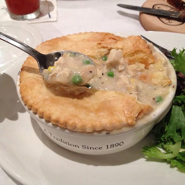 Mrs. Hering's 1890 Original Chicken Pot Pie - The Walnut Room - Chicago, Chicago, IL