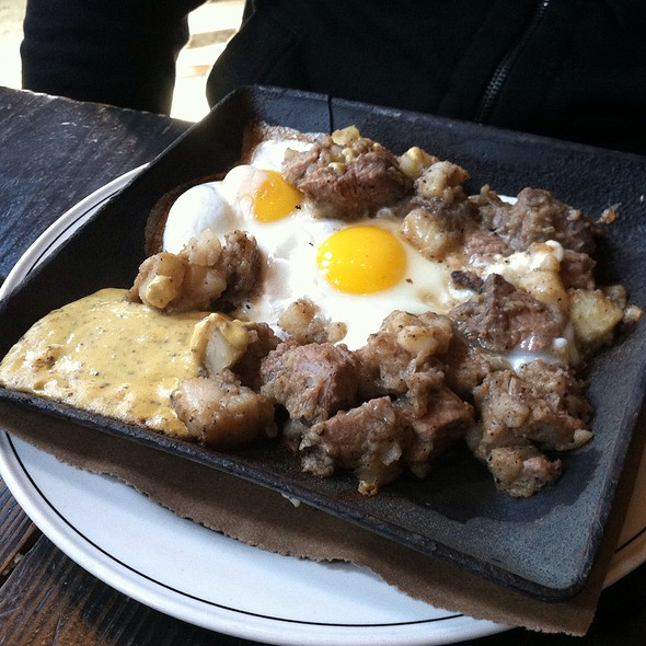Smoked Beef & Potato Hash - Woodberry Kitchen, Baltimore, MD