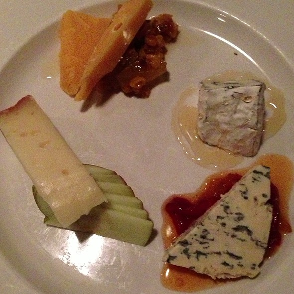 Cheese Plate @ Table