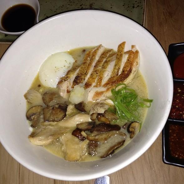 Chicken Miso Ramen Noodle Soup Bowl - SOBA Lounge, Pittsburgh, PA