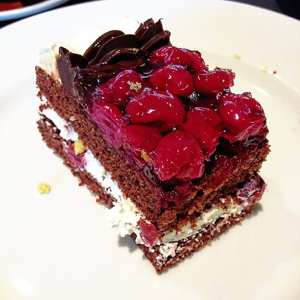 Black Forest Cake At The Living Room Caf