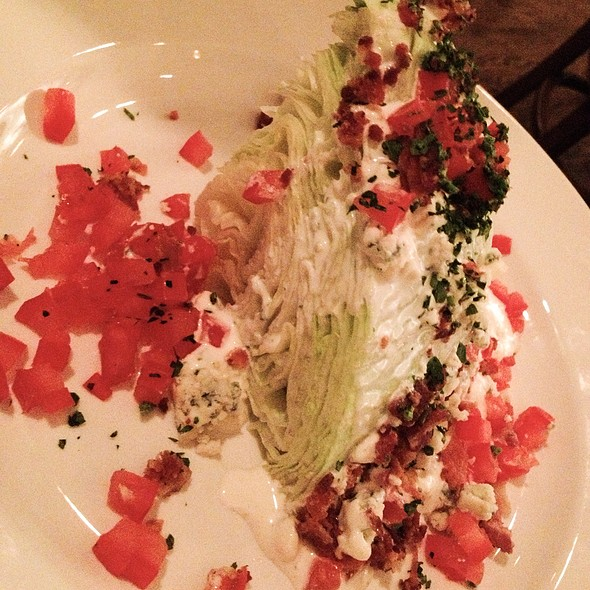 Iceberg Wedge Salad With Bacon, Bleu Cheese And Tomoato - Riva Crabhouse on Navy Pier, Chicago, IL