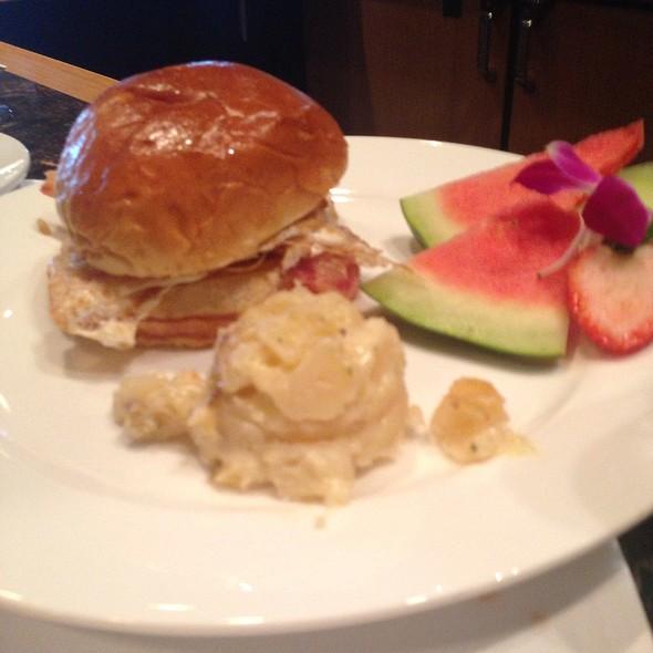 New York Breakfast Sandwich - Dusty's Wine Bar, Okemos, MI
