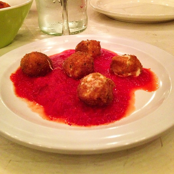 Fried Fresh Mozzarella Balls @ Pupatella Neapolitan Pizzaria