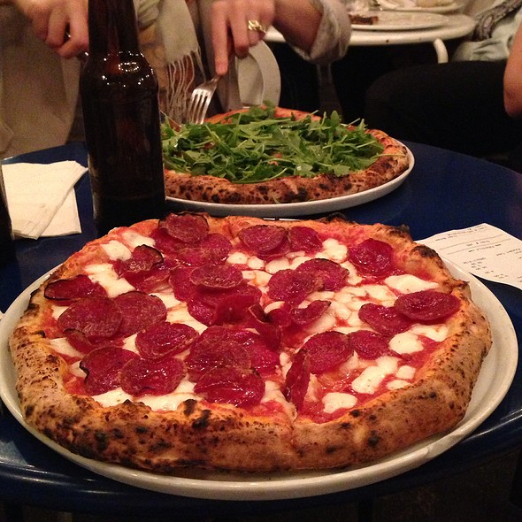 peperoni pizza @ Pupatella Neapolitan Pizzaria