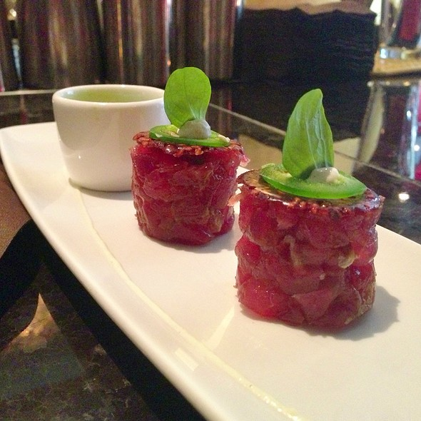 Tuna Tartar @ coco sala chocolate lounge and boutique