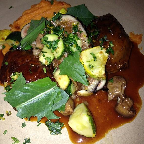 Roasted Pork Cheeks @ Whisknladle Bistro & Bar