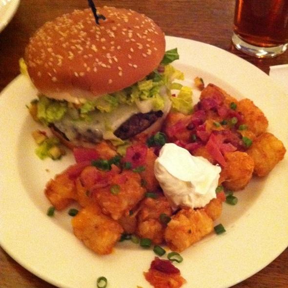Black Bean Burger @ Spenard Roadhouse