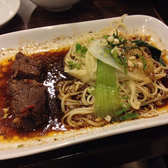 A1! Braised Beef Dry Noodles @ Kanzhu Hand-Pulled Noodles