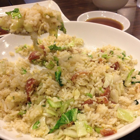 Chinese Sausage Fried Rice @ Kanzhu Hand-Pulled Noodles