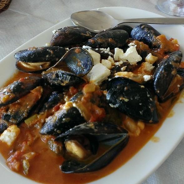 Mussels Saganaki @ Kalymnos Ouzeri