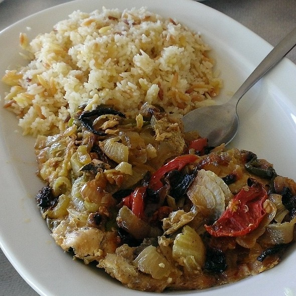 Baked Fish with Rice
