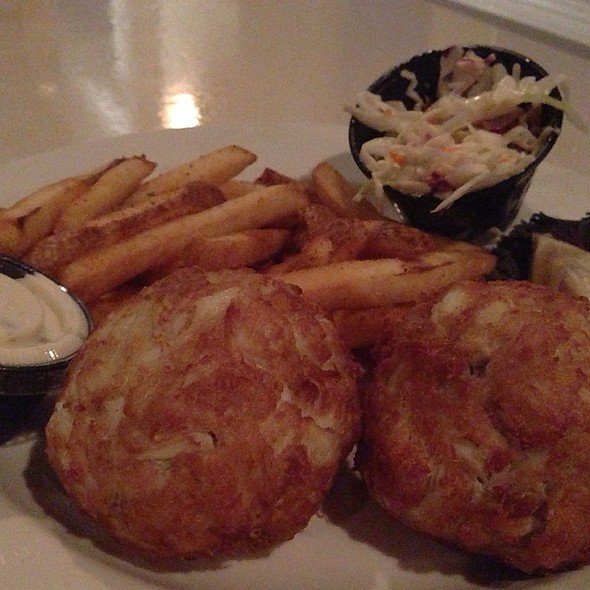 Crab Cakes - Stoney's Kingfishers, Solomons, MD