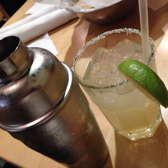 Hand Shaken Margarita - Sonterra Grill, Colorado Springs, CO