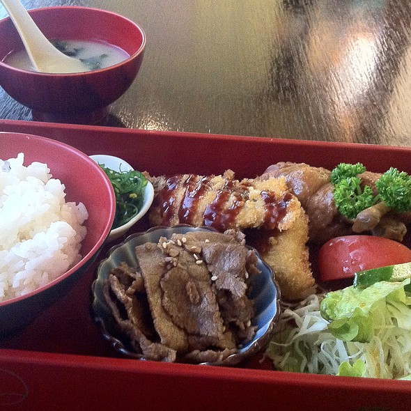 lunch box @ Yamato Japanese Ii