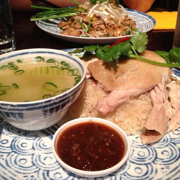 Khao Man Kai ข้าวมันไก่ @ Chatime at Westfield