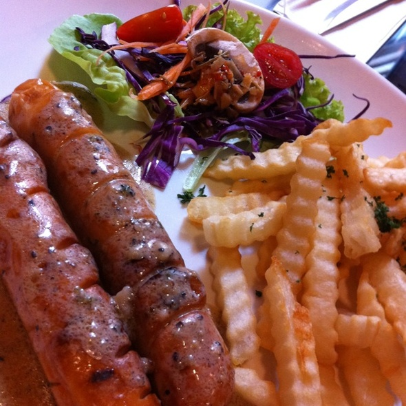 Chicken Sausage @ Ayers Rock Butcher and Grill