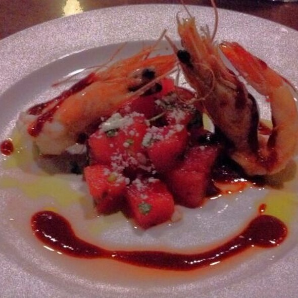 Caledonian Prawn Watermelon Salad @ Row 14 Bistro & Wine Bar